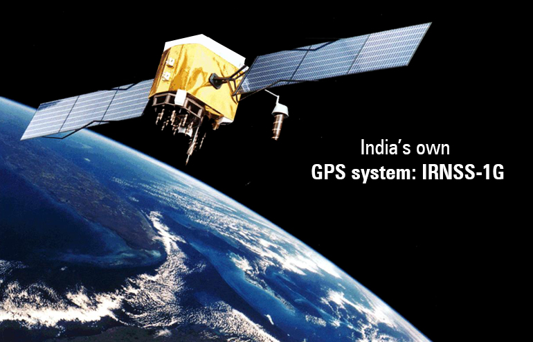 India's own GPS system: IRNSS-1G